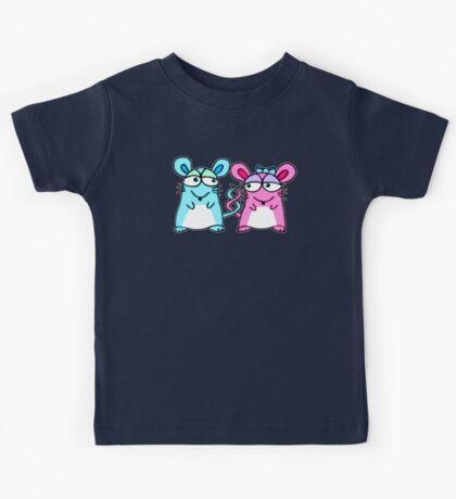 Mice In Love - A design by Perrin Kids Tee