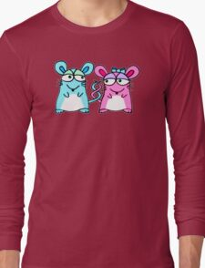 Mice In Love - A design by Perrin Long Sleeve T-Shirt