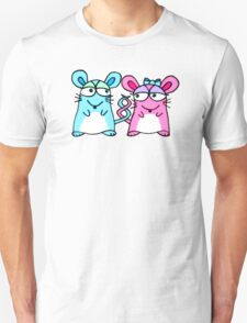 Mice In Love - A design by Perrin Unisex T-Shirt