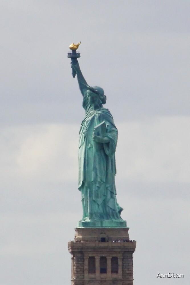 Statue of Liberty Profile by AnnDixon