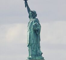 Statue of Liberty Profile by AnnDixon
