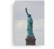 Statue of Liberty Profile Canvas Print