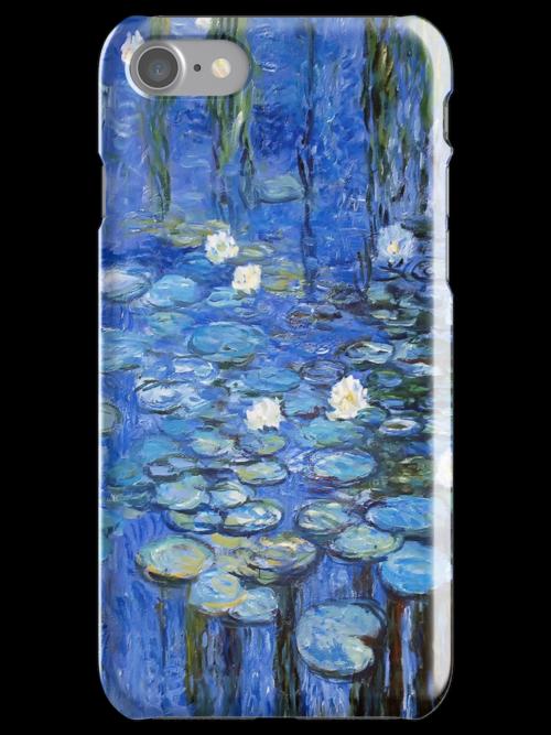 water lilies a la Monet by Jo-PinX
