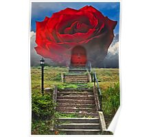 The Rose Stairway Poster