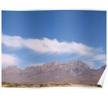 Sunny and 77  (Organ Mountians) Poster