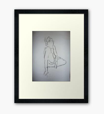 Sketchy Framed Print