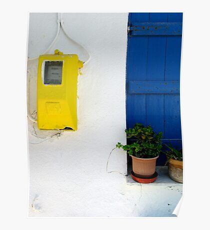 Greek Style No 2 Poster