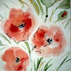 My first Poppys by Heidi Mooney-Hill