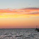 Sunset At Lake Moultrie, Bonneau, SC, USA by James J. Ravenel, III