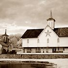Star Barn - toned infrared by   Paul W. Faust
