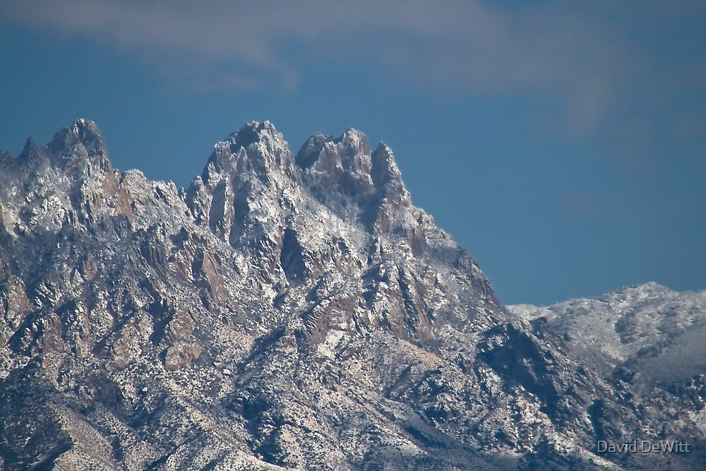 Mid-winter in the Peaks of the Organ Mountains by David DeWitt