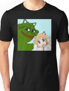 Kawaii Waifu Pepe Unisex T-Shirt