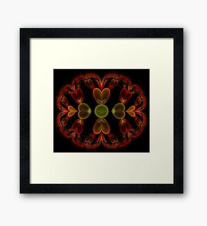 Heart Julian Framed Print