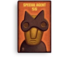 Special Agent 56 Canvas Print