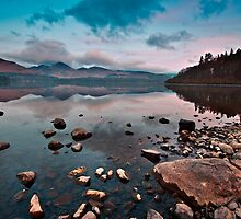 Stillness at Derwentwater by Shaun Whiteman