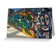 Masspalomas Charity Graffiti - Spain Greeting Card