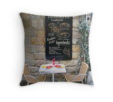 Carcassonne Cassoulet Throw Pillow
