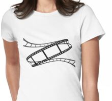 Film Strip Womens Fitted T-Shirt