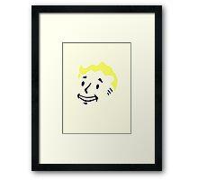 Pip Boy Face - Fallout Framed Print