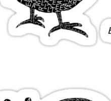 Timely Paradox Sticker