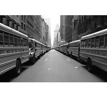 55th and 7th Photographic Print