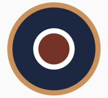 Royal Air Force - Historical Roundel Type C.1 1942 - 1947 Baby Tee