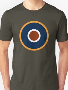 Royal Air Force - Historical Roundel Type C.1 1942 - 1947 Unisex T-Shirt