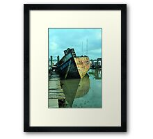 Bow Reflections Framed Print