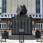Chicago Blackhawks Alumni Statue by Anthony Roma