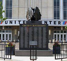 Chicago Blackhawks Alumni Statue by Anthony Roma