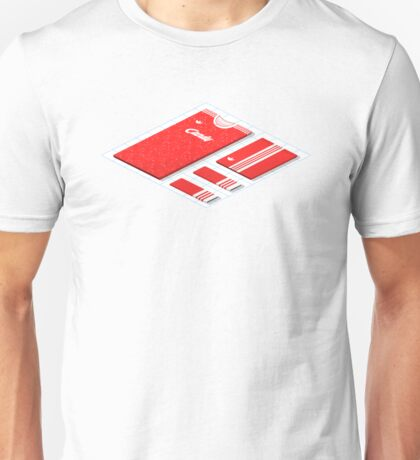Liverpool Historical Kits Isometric Collage (Home) Unisex T-Shirt