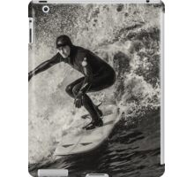 Park Beach Surf #10 Black and White iPad Case/Skin