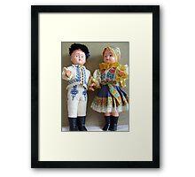 Dolls Framed Print