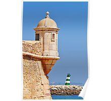 Algarve lighthouse Poster