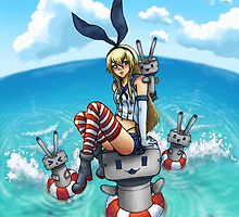 Shimakaze in the Sea by Brittney Emory