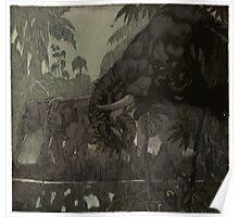 Maurice de Becque Livre La Jungle Page 206 Poster