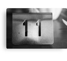 11 Metal Print