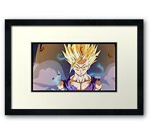 Angry Gohan Framed Print
