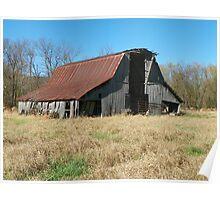 Old Harris Barn, Built 1917 Poster