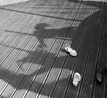 Shadow Trampolining by Victoria Morton