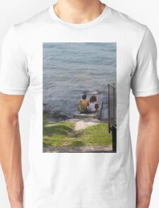 couple on the beach Unisex T-Shirt
