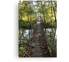 Swinging Bridge~ Canvas Print