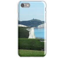 Seven Sisters Cliffs, East Sussex iPhone Case/Skin