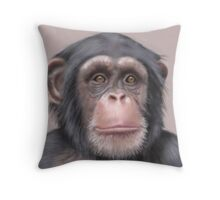 A. Chimp Throw Pillow