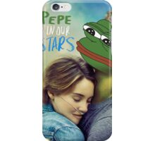 The Pepe in our Stars iPhone Case/Skin