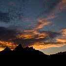 Grand Tetons after Sunset by OrPhotoJohn