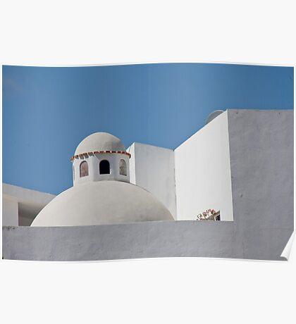 Santorini, Mexico Poster