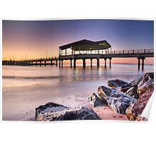 Redcliffe Sunrise Poster