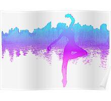 City Dancing Poster