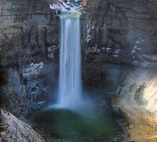 Taughannock Falls - The Overlook by KathleenRinker
